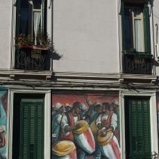 Montevideo, quartiere Palermo.